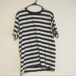 Other - Black White stripped t-shirt